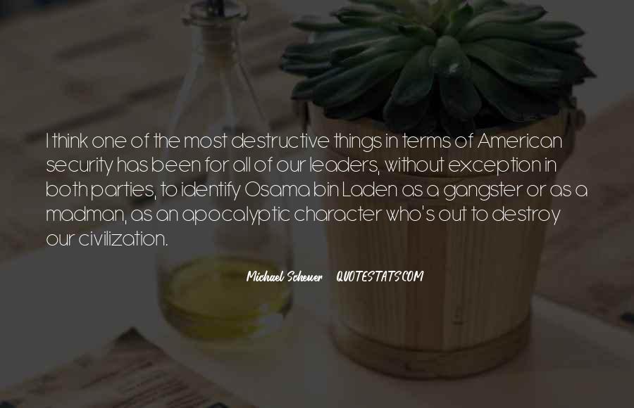 Michael Scheuer Quotes #498193