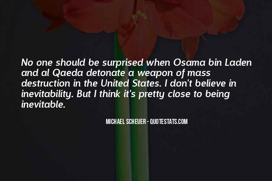 Michael Scheuer Quotes #553479