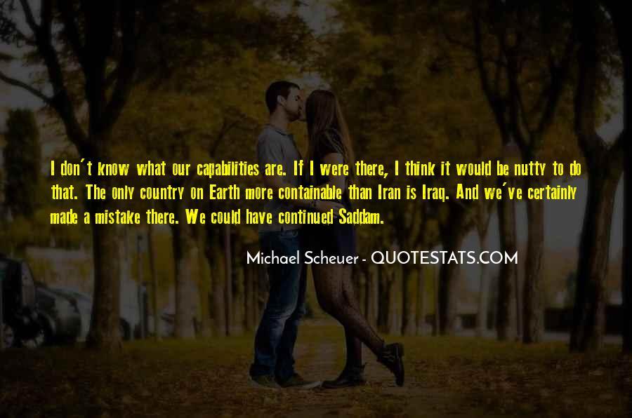 Michael Scheuer Quotes #561190