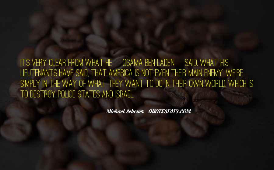 Michael Scheuer Quotes #813476