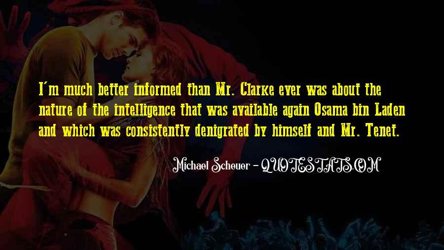 Michael Scheuer Quotes #992766