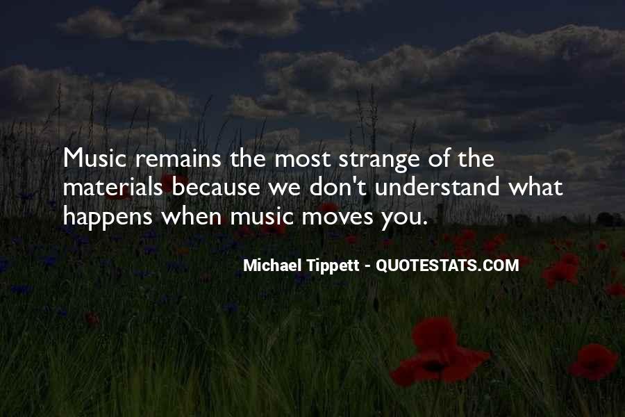 Michael Tippett Quotes #1201512