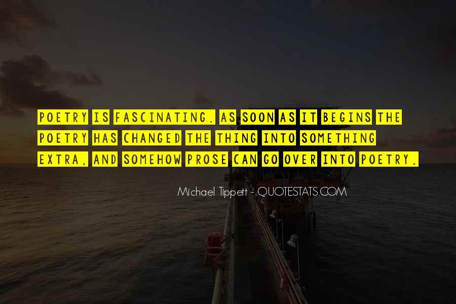 Michael Tippett Quotes #1660759