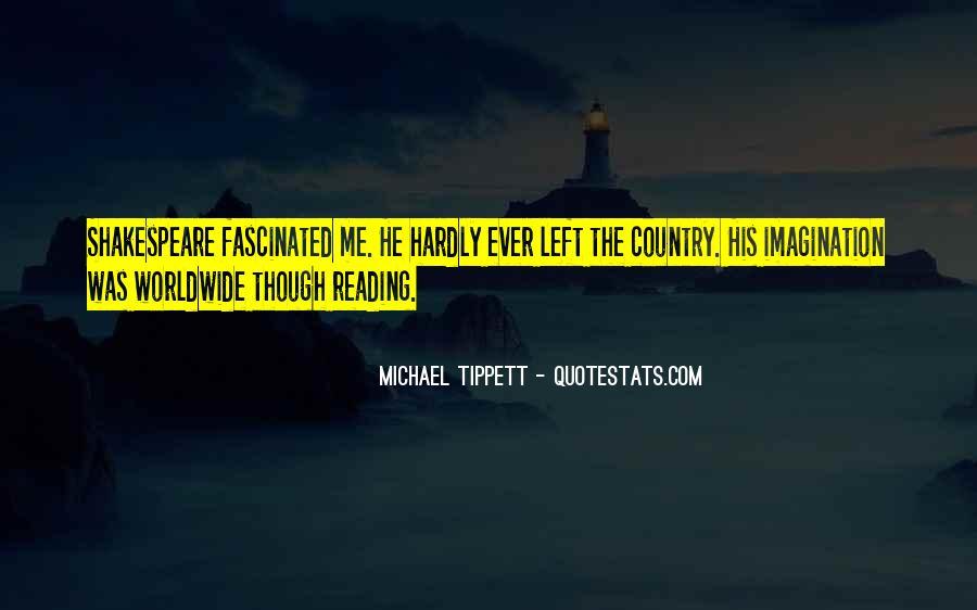 Michael Tippett Quotes #258399