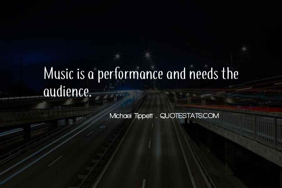 Michael Tippett Quotes #375962
