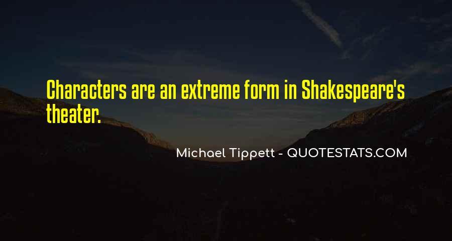 Michael Tippett Quotes #54165