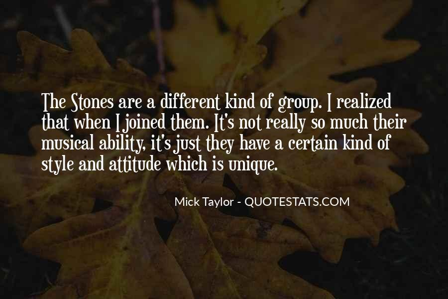 Mick Taylor Quotes #233782