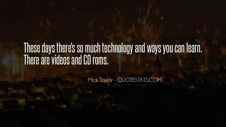 Mick Taylor Quotes #714504