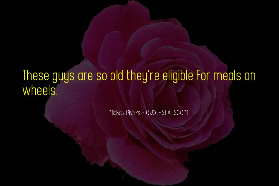 Mickey Rivers Quotes #739605