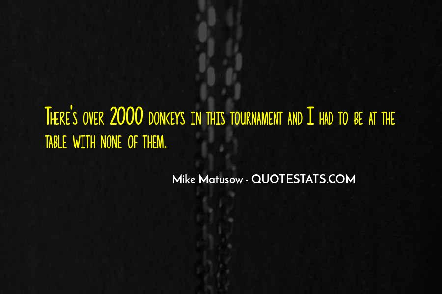 Mike Matusow Quotes #1219233
