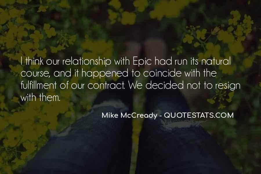 Mike Mccready Quotes #1406856