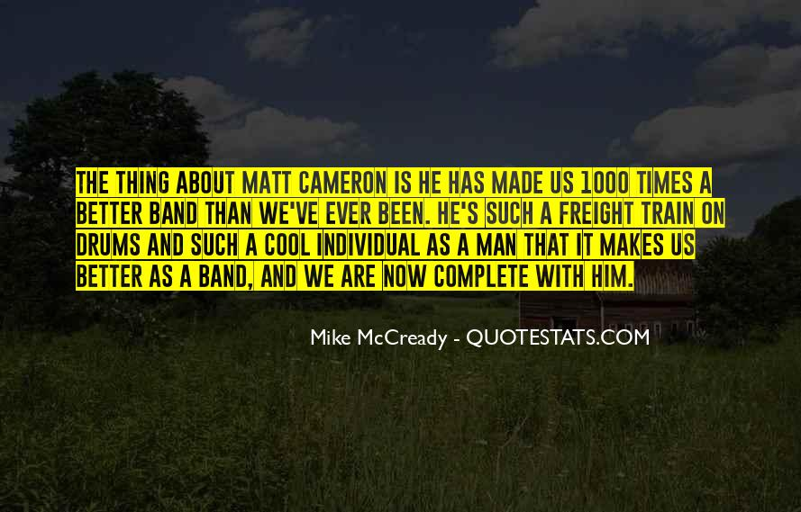 Mike Mccready Quotes #628441