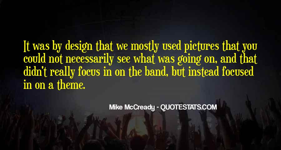 Mike Mccready Quotes #79045