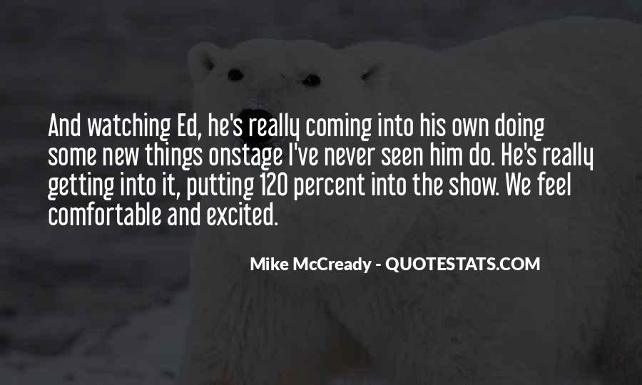 Mike Mccready Quotes #857850
