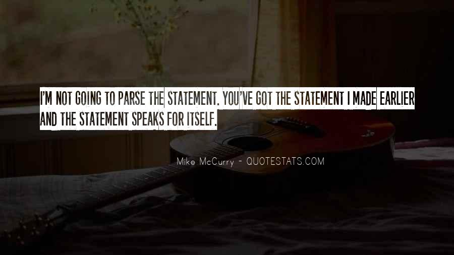 Mike Mccurry Quotes #1633525