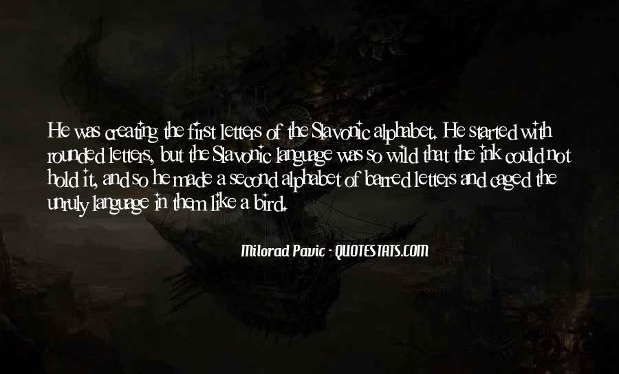 Milorad Pavic Quotes #339789