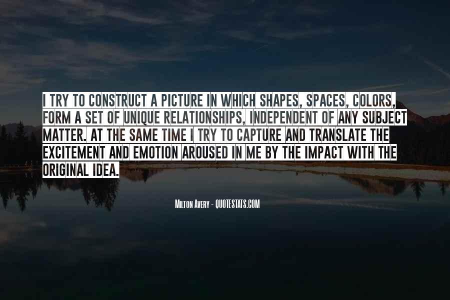 Milton Avery Quotes #1808602