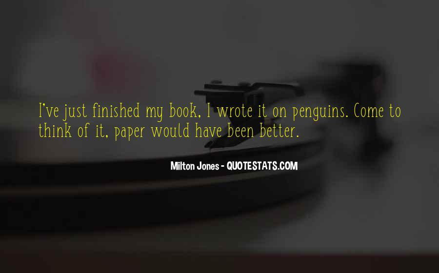 Milton Jones Quotes #896937