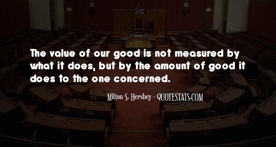 Milton S Hershey Quotes #1559196