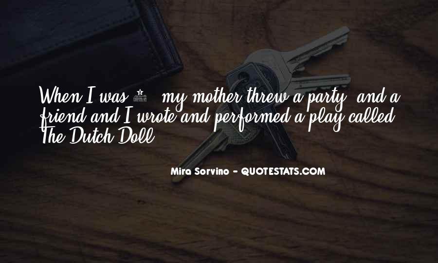 Mira Sorvino Quotes #1021637