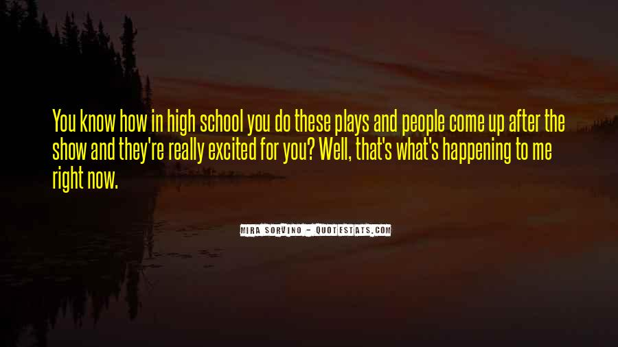 Mira Sorvino Quotes #1265220