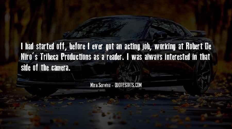 Mira Sorvino Quotes #1538971