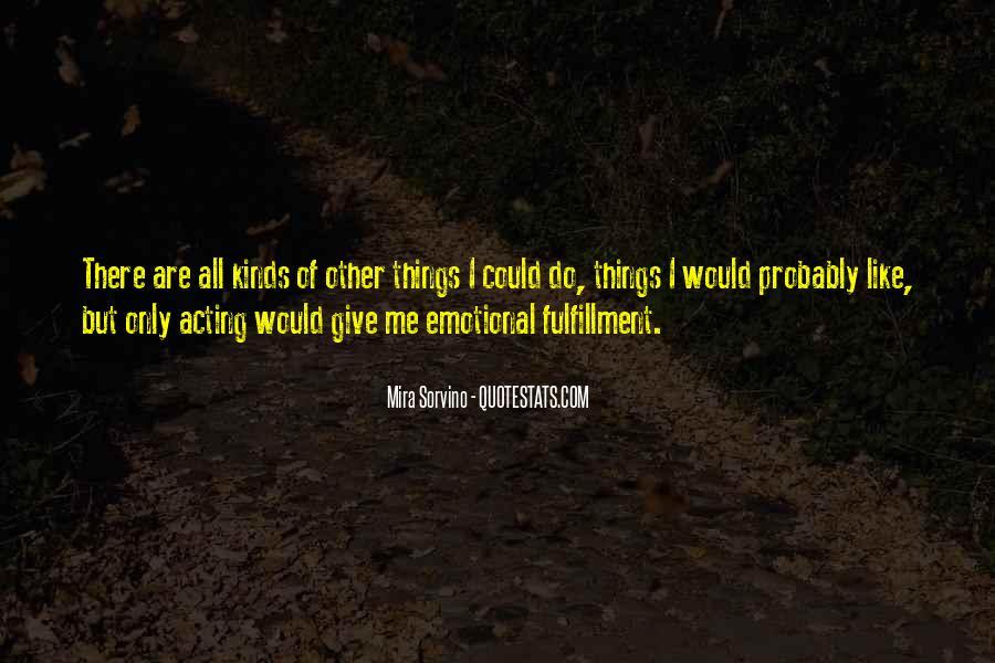 Mira Sorvino Quotes #1706172