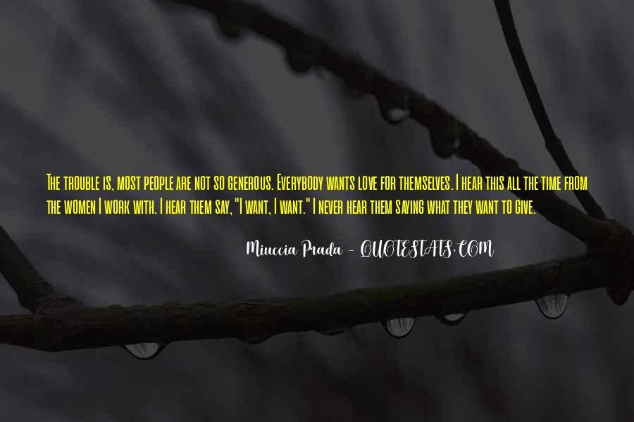 Miuccia Prada Quotes #1174801