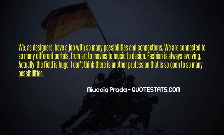 Miuccia Prada Quotes #168783
