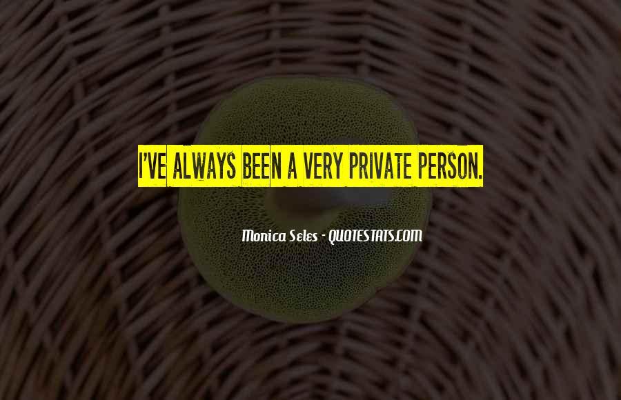 Monica Seles Quotes #1030593