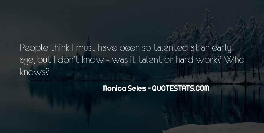 Monica Seles Quotes #272786