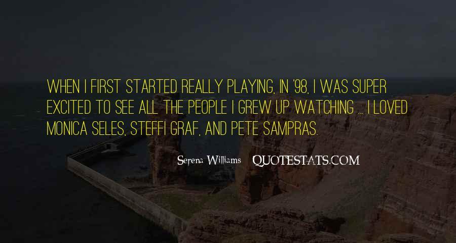 Monica Seles Quotes #395605