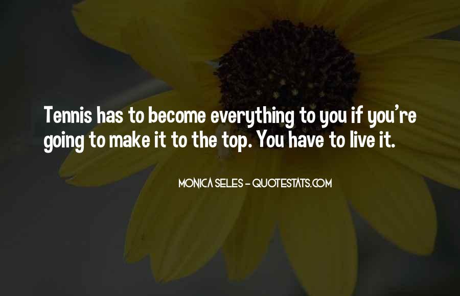 Monica Seles Quotes #437802
