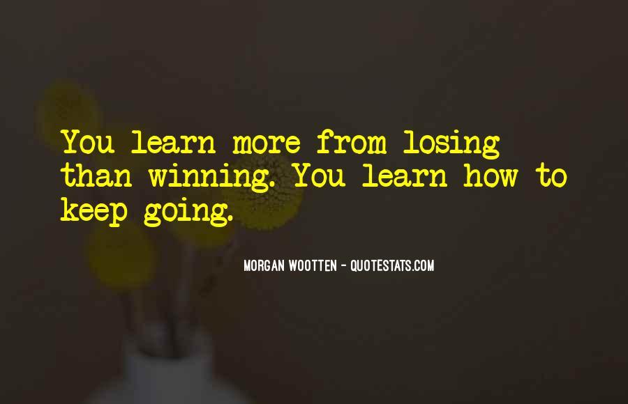 Morgan Wootten Quotes #886650