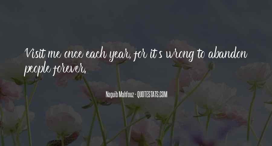Naguib Mahfouz Quotes #1206684