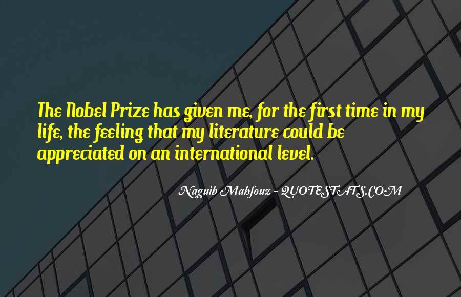 Naguib Mahfouz Quotes #1212697