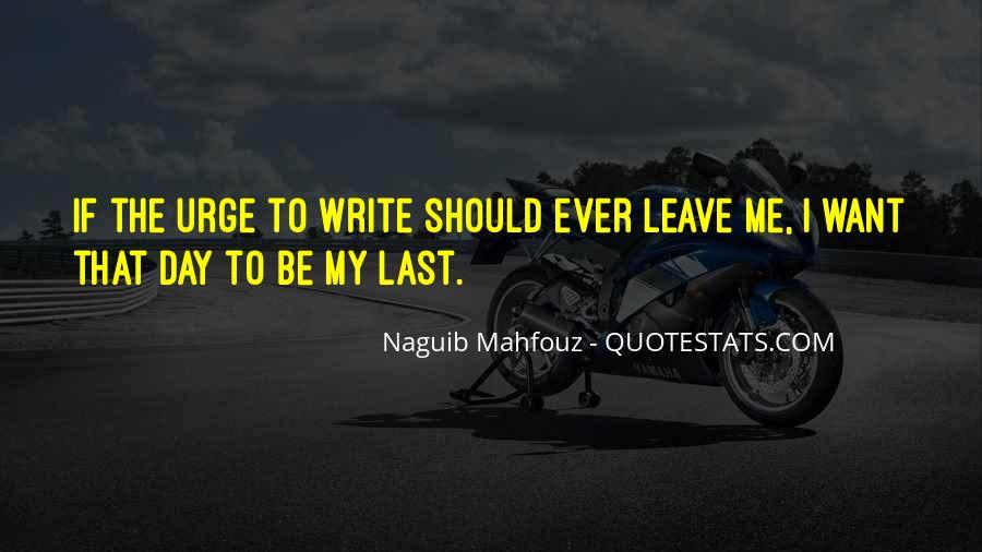 Naguib Mahfouz Quotes #1264405