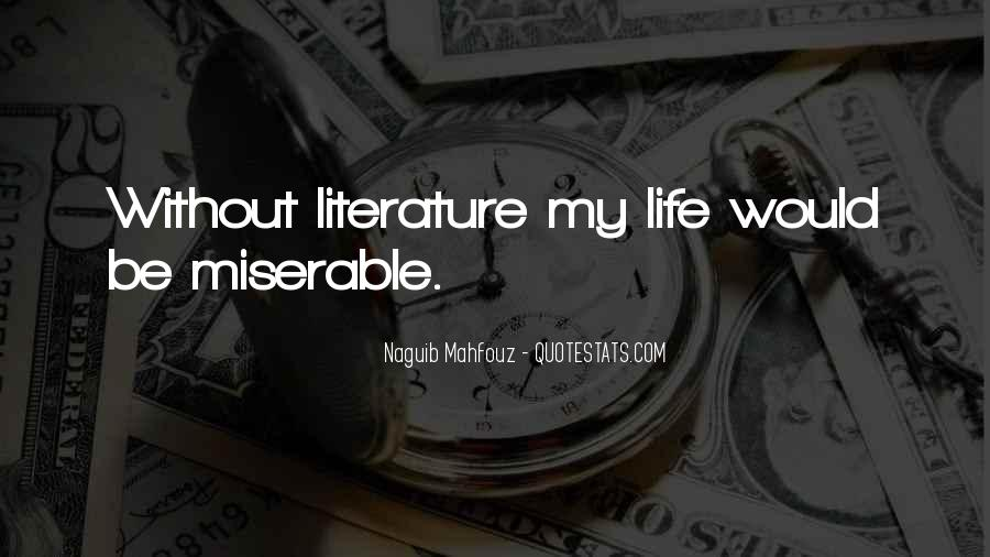 Naguib Mahfouz Quotes #1295144