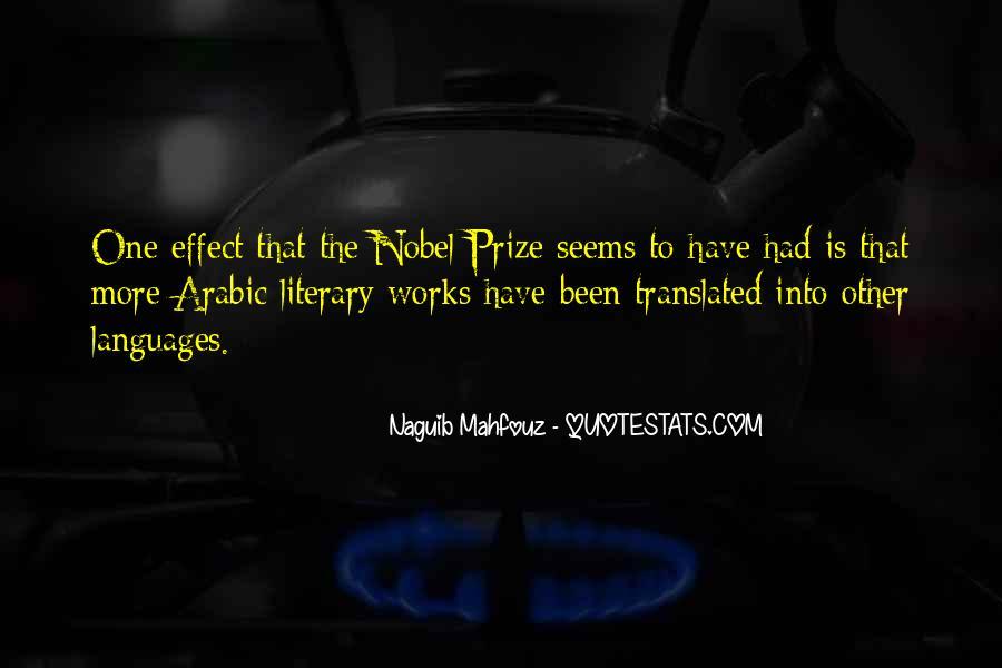 Naguib Mahfouz Quotes #1447853