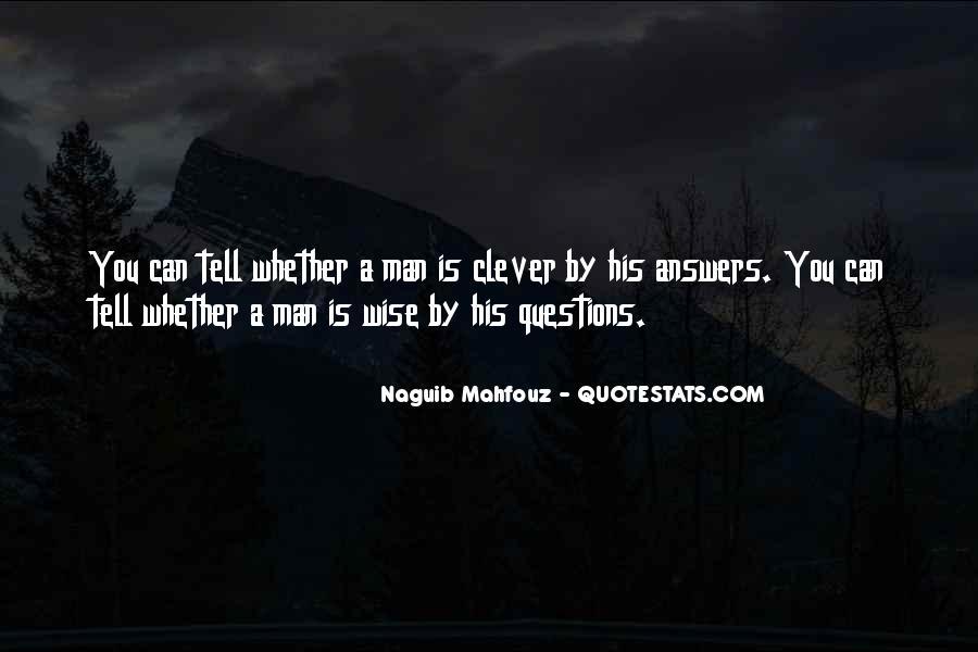 Naguib Mahfouz Quotes #1509996