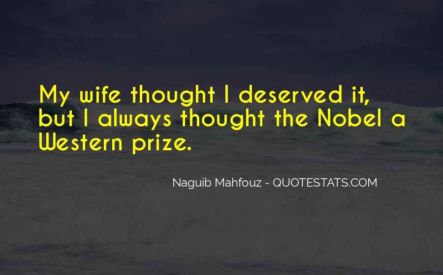 Naguib Mahfouz Quotes #1701123
