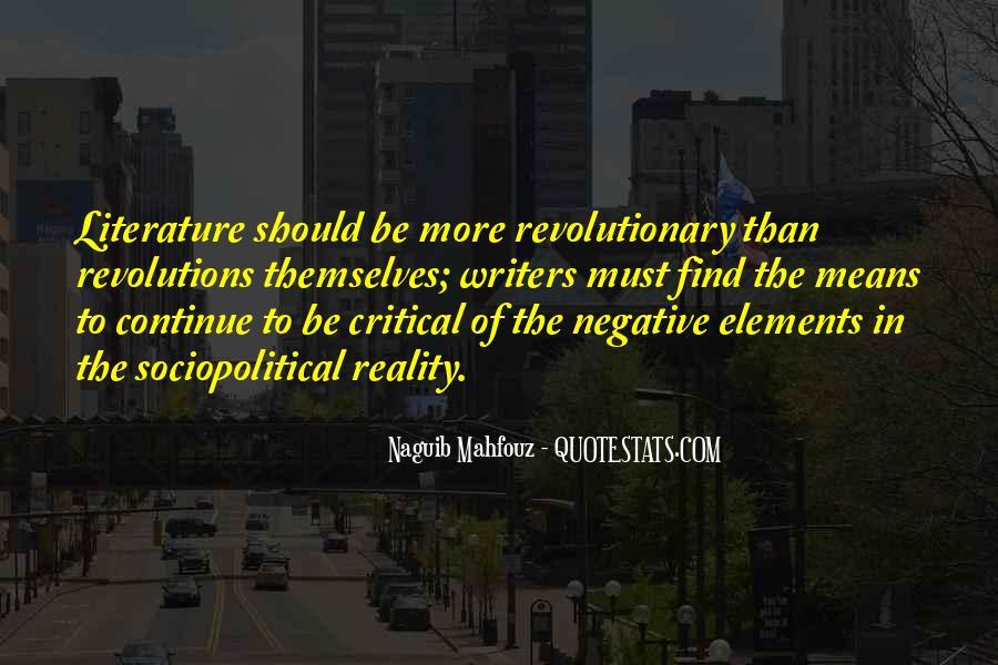 Naguib Mahfouz Quotes #1727481