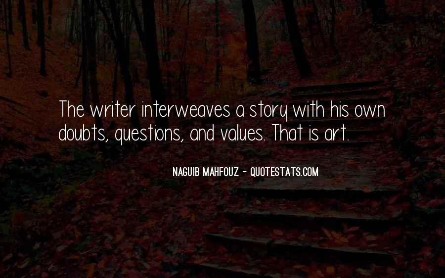 Naguib Mahfouz Quotes #435798
