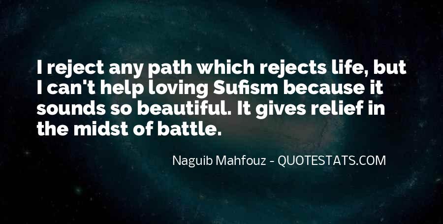 Naguib Mahfouz Quotes #522124