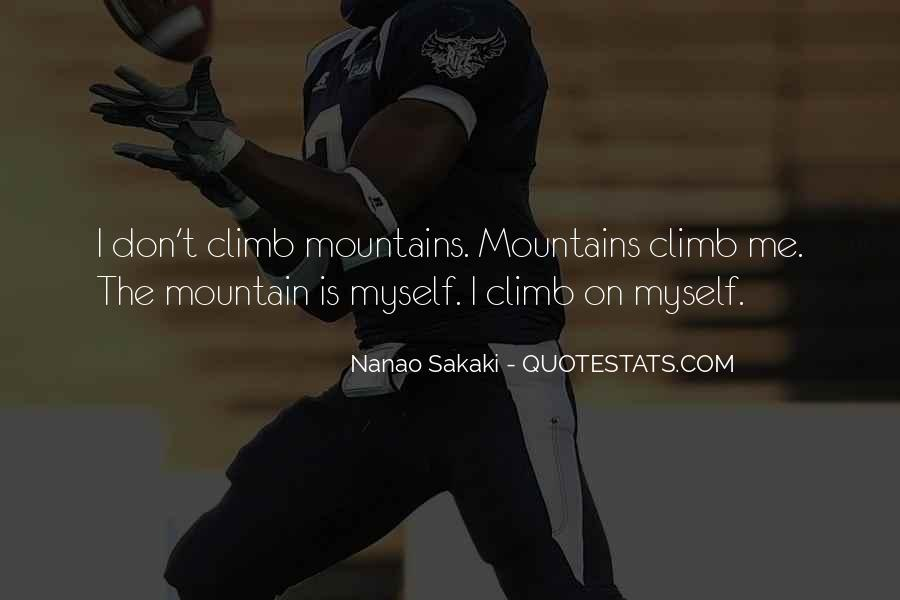 Nanao Sakaki Quotes #404992