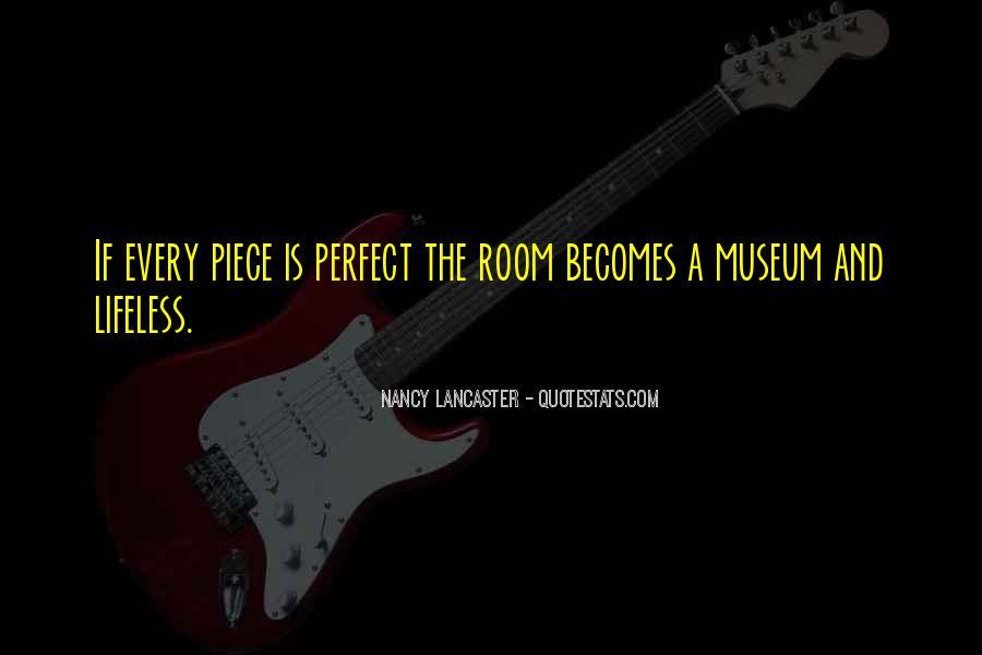 Nancy Lancaster Quotes #1610881