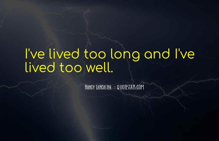 Nancy Lancaster Quotes #741463