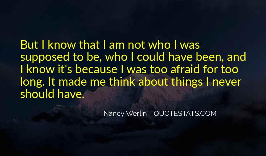 Nancy Werlin Quotes #1004710