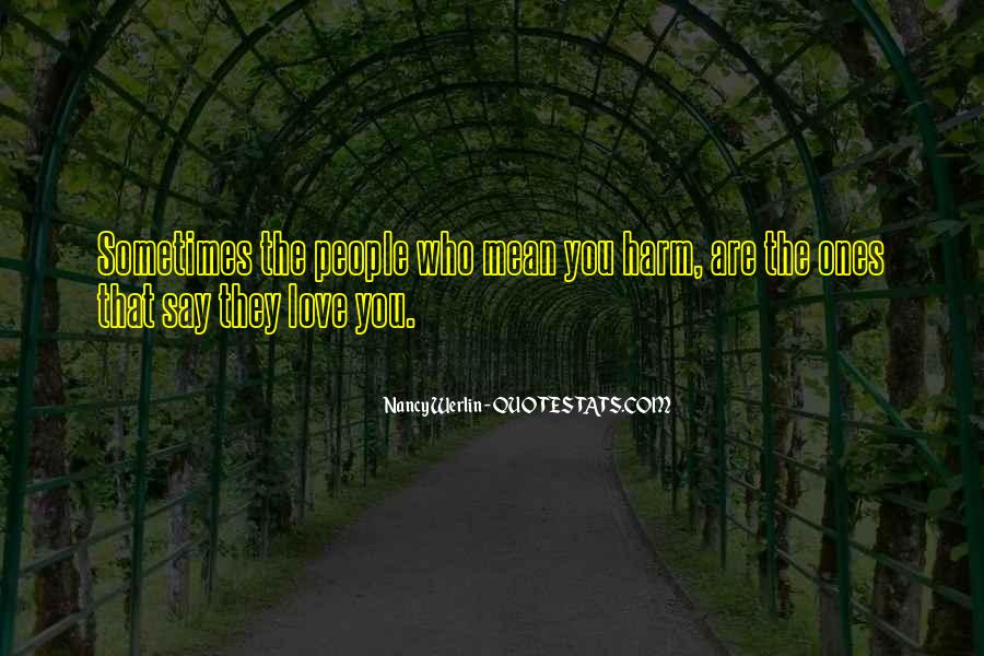 Nancy Werlin Quotes #1380154