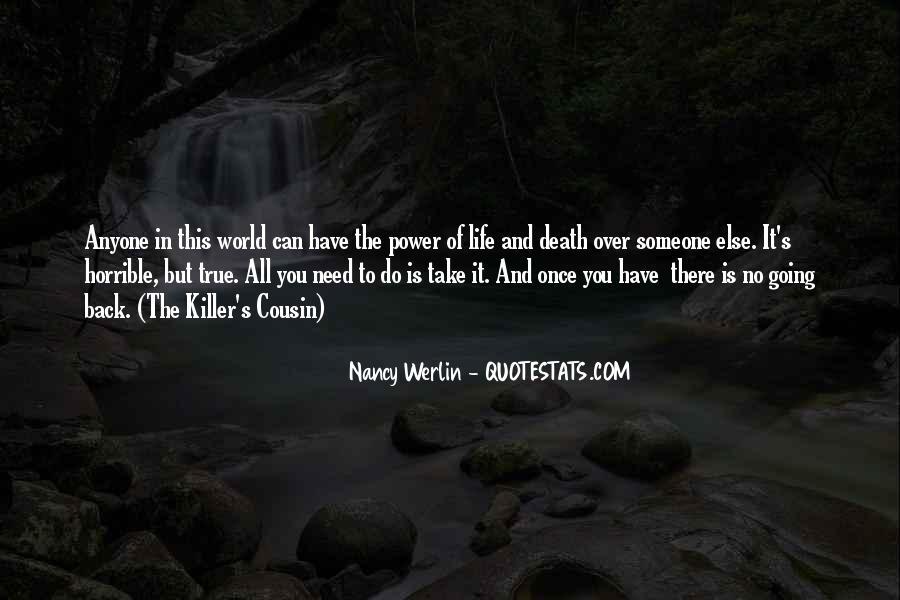 Nancy Werlin Quotes #516423